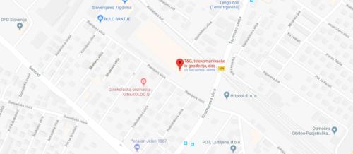 T&G, telekomunikacije in geodezija, d.o.o. Plemljeva 2 1210 Ljubljana-Šentvid